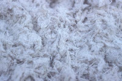 Photo of asbestos